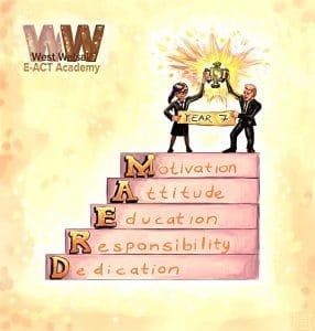 Year 7 WWEA Logo
